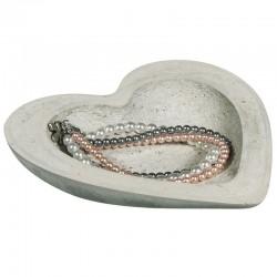 Szív alakú betontálka készítő szett