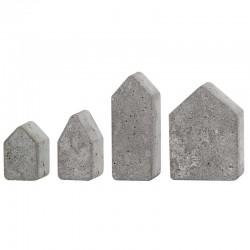 Öntőforma betonhoz: házak (4 db)