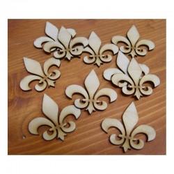 Liliom dekoráció - kicsi, 10 db