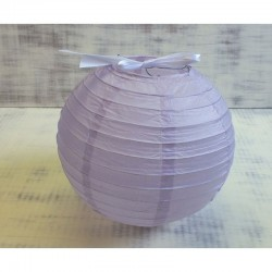 Lila rizslámpa ø25 cm