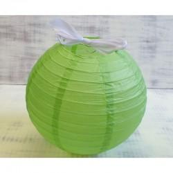 Zöld rizslámpa ø40 cm