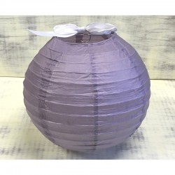 Sötétlila rizslámpa ø40 cm