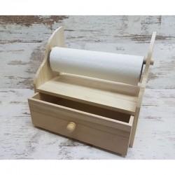 Papírtörtlő tartó fiókkal