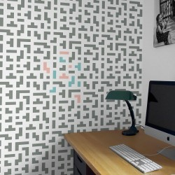 Tetris festősablon (nagy)