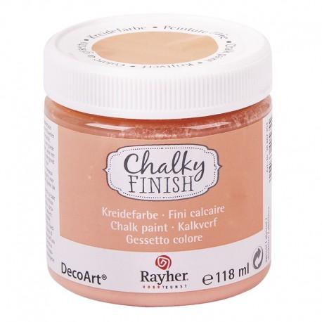 Chalky Finish krétafesték - barack 118 ml