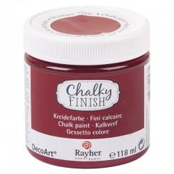 Chalky Finish krétafesték - burgundi 118 ml