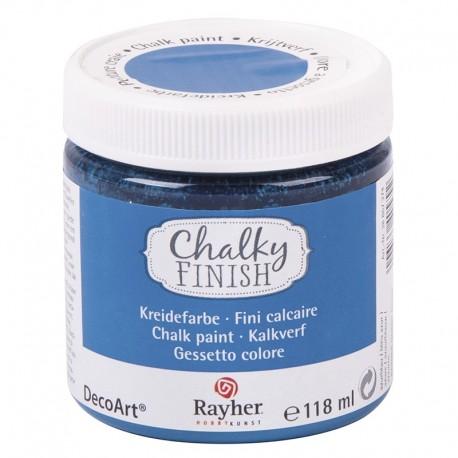 Chalky Finish krétafesték - azúrkék 118 ml