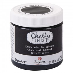 Chalky Finish krétafesték - ébenfa 118 ml