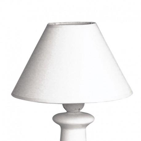 Kerek lámpaernyő - fehér (ø 19,5 cm)