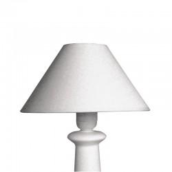 Kúp alakú lámpaernyő - fehér (ø 22,5 cm)