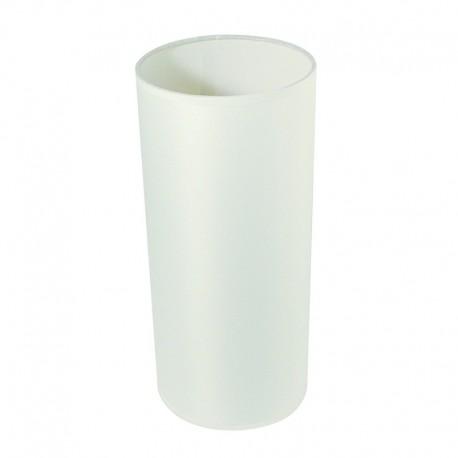 Dob lámpaernyő - fehér (ø 13,5 cm)