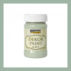 Dekor Paint Soft dekorfesték – country zöld, 100 ml