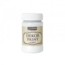 Dekor Paint Soft dekorfesték – fehér, 100 ml