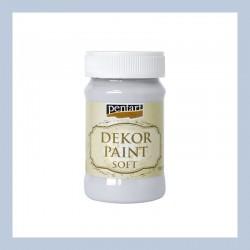 Dekor Paint Soft dekorfesték – galambszürke, 100 ml