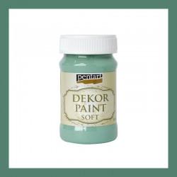 Dekor Paint Soft dekorfesték – türkizzöld, 100 ml
