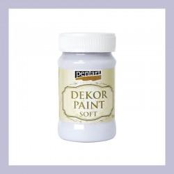 Dekor Paint Soft dekorfesték – világoslila, 100 ml