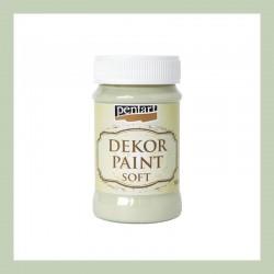 Dekor Paint Soft dekorfesték – zuzmózöld, 100 ml