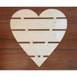 Raklap jellegű szív (50 cm)