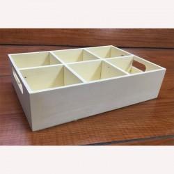 Rekeszes tároló doboz