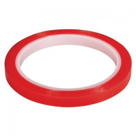 Kétoldalas erős ragasztószalag, átlátszó 9 mm (10 m)