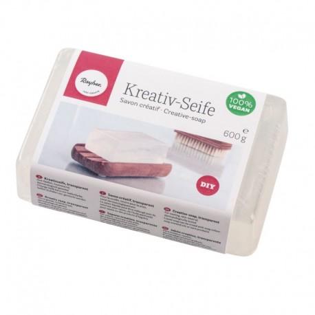 Önthető kreatív szappan - átlátszó, 200g