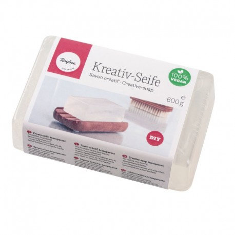Önthető kreatív szappan - átlátszó, 600g
