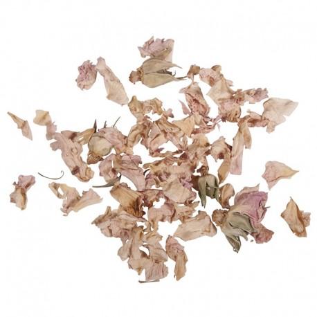 Szárított virág - Rózsaszín rózsaszirom, 5 g