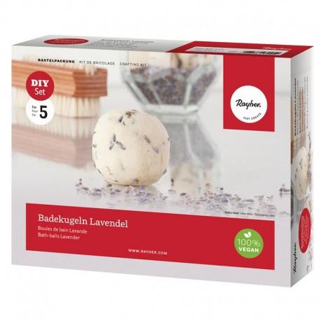 Fürdőgolyó készítő szett - Levendula