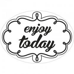 Szappan bélyegző - enjoy today