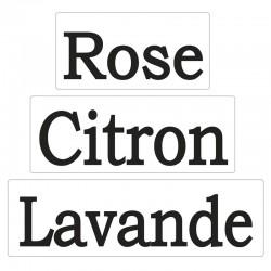 Szappan bélyegző - Rose, Citron, Lavande
