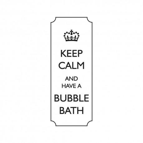 Díszítő pecsét - keep calm...