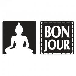 Szappan bélyegző - Bonjour, Buddha