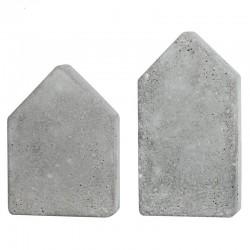 Öntőforma betonhoz: házak (2 db)