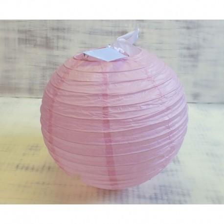 Rózsaszín rizslámpa ø25 cm