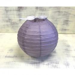 Sötétlila rizslámpa ø25 cm