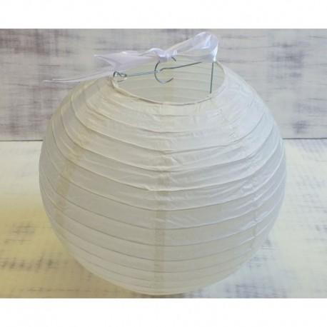 Krémfehér rizslámpa ø40 cm
