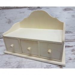 Asztali fiókos tároló