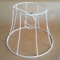 Lámpaernyő váz - harang (ø 20 cm)