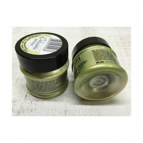Delicate metál akrilfesték 50 ml - fehérarany