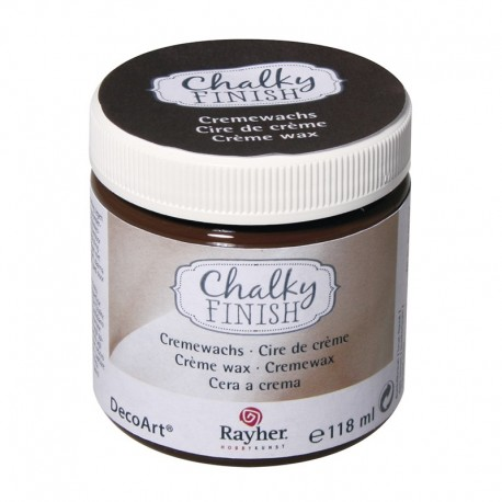 Chalky Finish krémviasz - sötétbarna 118 ml