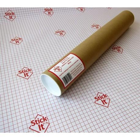 Öntapadós lámpaernyő fólia, fehér  (150 cm széles) - 10 cm