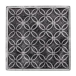 Kiönthető csempeminta - virágkör (11x11 cm)