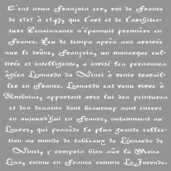 Francia felirat sablon