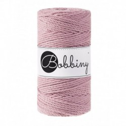Bobbiny 3 Ply Makramé fonal 3 mm – Dusty pink