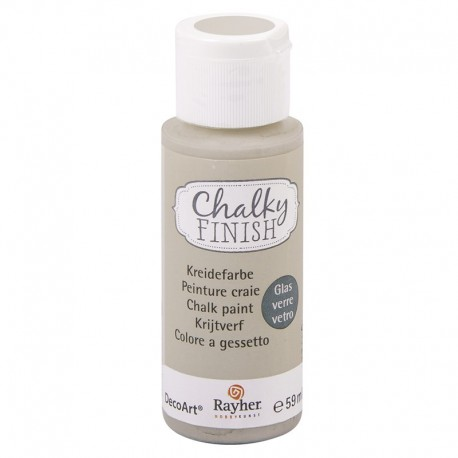 Chalky Finish krétafesték üvegre - világos topáz 59 ml