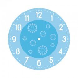 Sablon szett órakészítéshez, számok és motívum
