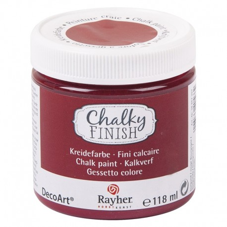 Chalky Finish krétafesték - burgundi 118 ml