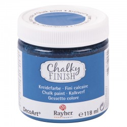 Chalky Finish krétafesték - azúrkék 118 ml