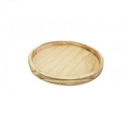 Kerek fa tálca (26 cm)