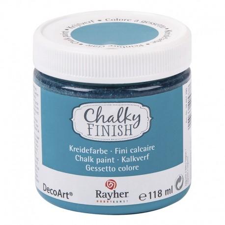 Chalky Finish krétafesték - lagúnakék 118 ml